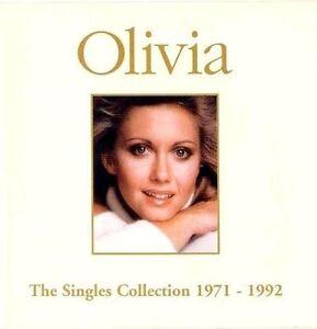 OLIVIA NEWTON-JOHN SINGLES COLLECTION 1971/1992  CD NEW