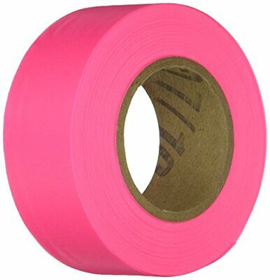 IRWIN Tools STRAIT-LINE Flagging Tape 150-foot Glo-Pink 65603