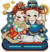 Korean Cross Stitch