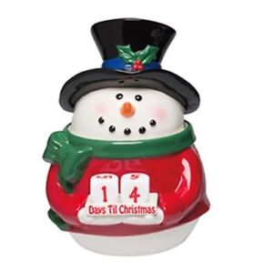 NEW SCENTSY SNOWMAN COUNTDOWN WARMER