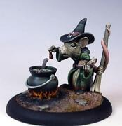 Dollhouse Miniature Witch