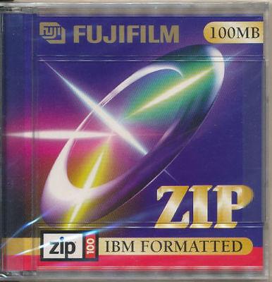 FUJIFILM no Iomega 100MB ZIP Diskette Disk Disc neu in Folie  ovp ab 1 Stück St.