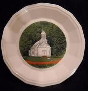 Homer Laughlin Church Plate