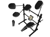 New Rockjam RDB205 Electronic Digital Drum Kit ideal xmas present can deliver