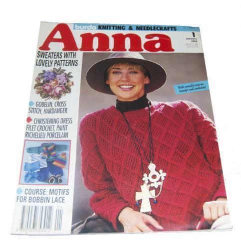 Anna Burda Crafts Ebay