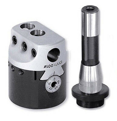 Boring Head 3 With R8 Shank Thread Mount 1-12x18tpi