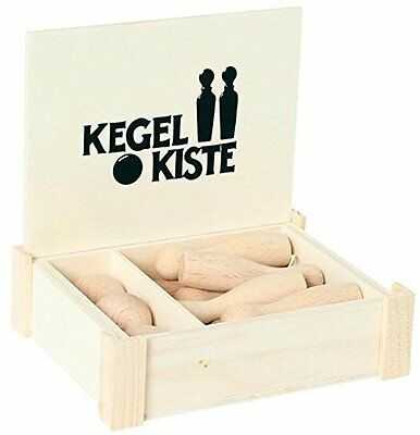 Kegel Kiste aus Holz, Kegelkiste 3496m