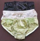 100% Silk Bikinis Multicolor Panties for Women