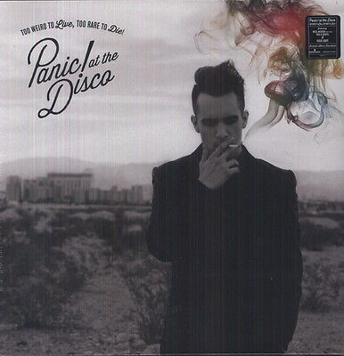 Panic  At The Disco    Too Weird To Live Too Rare To Die  New Vinyl