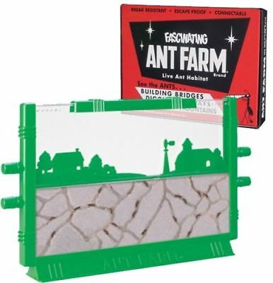 Original Uncle Milton's ANT FARM Live Habitat Insect Bug Colony School FREE - Ants Life