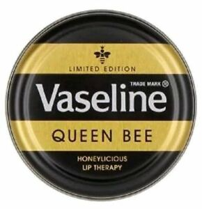 1 x Vaseline Lip Therapy tin Queen Bee Lip Balm 20g Brand NEW Limited Edition UK