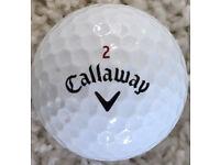 5x Callaway Chrome Soft Pearl Golf Balls