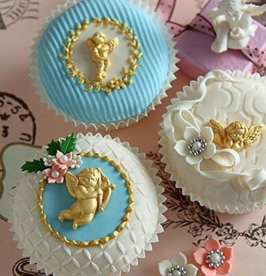 Sugarcraft Molds Polymer Clay Molds Cake Decorating Tools cherubs mold