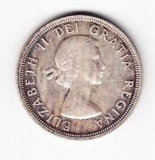 1954 Canadian Silver Dollar