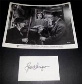 Jane Wyman Signed
