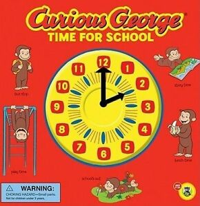 NEW Curious George Time for School (CGTV Novelty 8x8) by H. A. Rey
