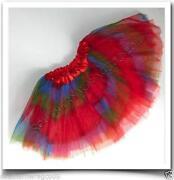 Girls Rainbow Tutu Skirt