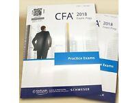 NEW!! 2018 CFA Level 1 Schweser Notes HARD COPY BOOKS - PAPERBACK PRINT EDITION Full Set 1, 2, 3