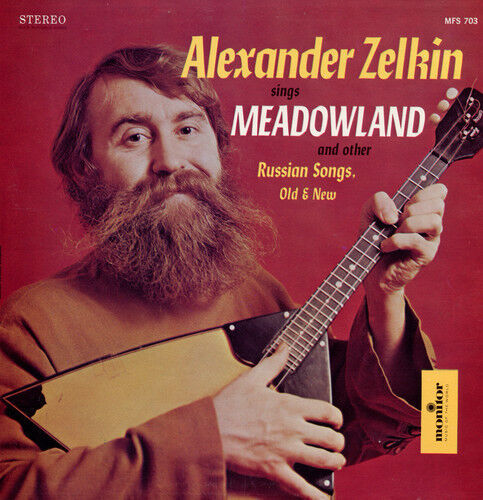 Alexander Zelkin - Sings Meadowland and Other Russian Songs [New CD]
