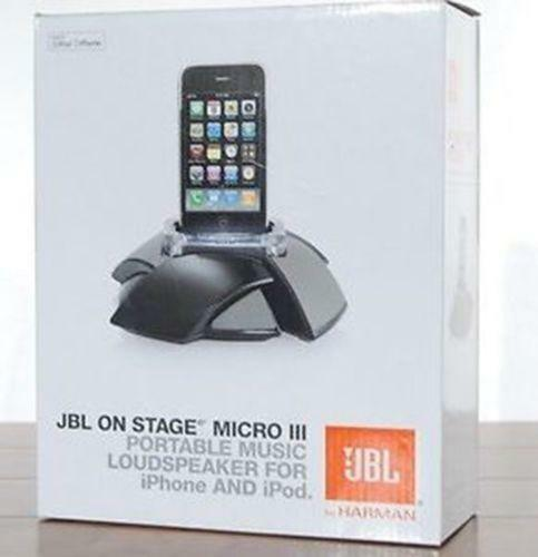 jbl on stage ipod dock ebay. Black Bedroom Furniture Sets. Home Design Ideas