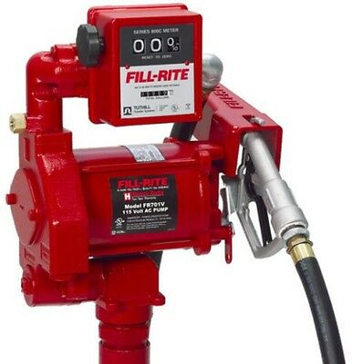 Tuthill Fill Rite Fr701v 115 Volt Ac Fuel Transfer Pump Meter