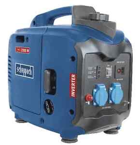 Scheppach Inverter-Stromerzeuger SG2000 Generator  2x230V  1x12V