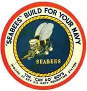 Seabee Decal