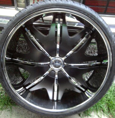 28 dub wheels tires parts ebay. Black Bedroom Furniture Sets. Home Design Ideas