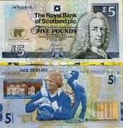 Jack Nicklaus 5 Note