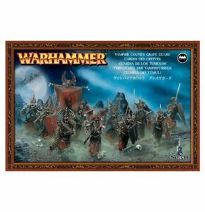 Warhammer Fantasy Vampire Counts Grave Guard NIB