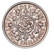 1947 Two Shillings