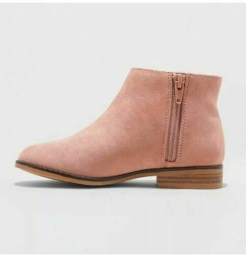cat and jack girls euna faux suede