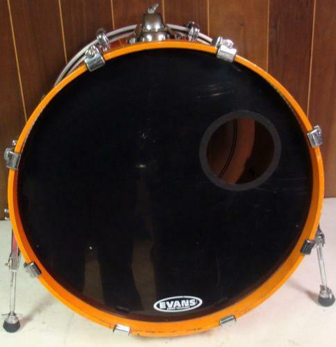 used 22 bass drum ebay. Black Bedroom Furniture Sets. Home Design Ideas