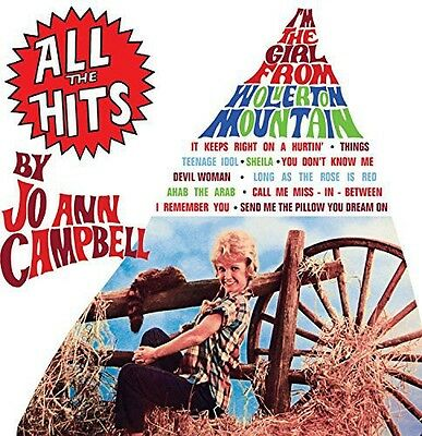 Jo Ann Campbell   All The Hits  New Cd  Uk   Import