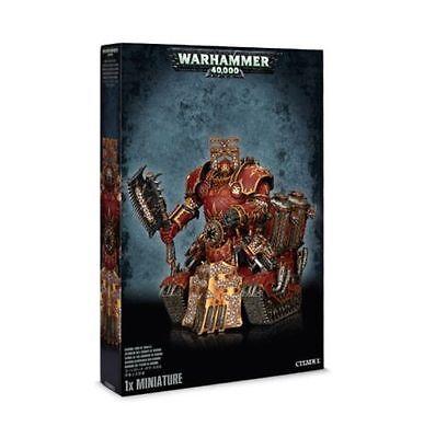 Warhammer 40K: Chaos Space Marine Khorne Lord Of Skulls