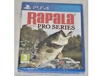 SONY PLAYSTATION PS4 GAME RAPALA FISHING PRO SERIES PAL MAXIMUM GAME WORLD CLASS