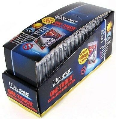 Ultra Pro 1 One Touch Magnetic Card Holders ~ 180pt 1 Box ( 20 )