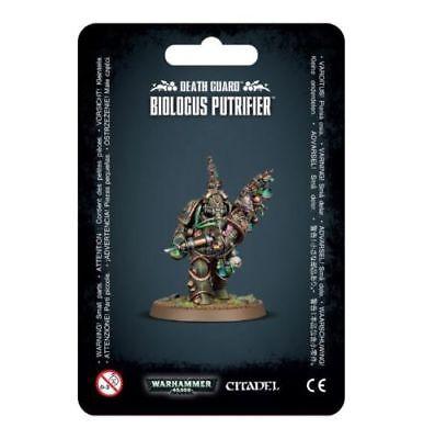 Warhammer 40K Death Guard Biologus Putrifier NEW