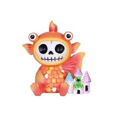 Big Boned Skeleton (NEW Furrybones Furry Bones Big Eyed Goldfish Skull Skeleton Figurine)