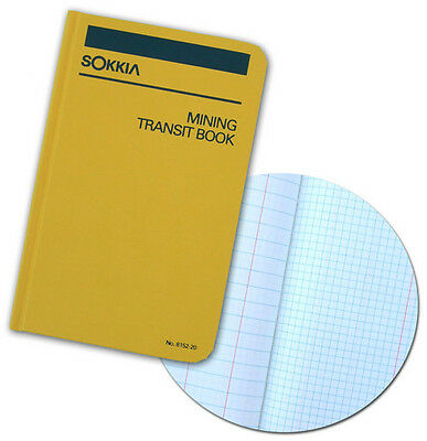 Sokkia 8152-20 Mining Transit Book For Survey Construction Engineer 6 Books
