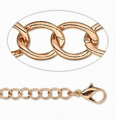 Copper Oval Links - 18
