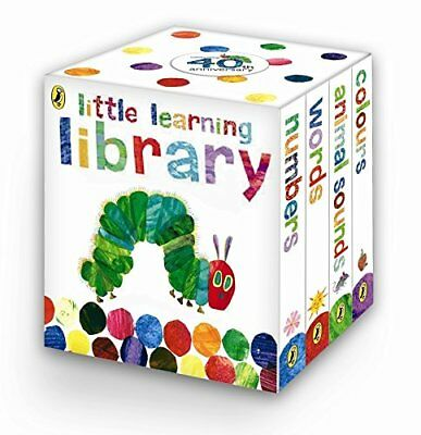 The Very Hungry Caterpillar: Little Learning Library by Eric Carle (Boardbook) - The Hungry Little Caterpillar