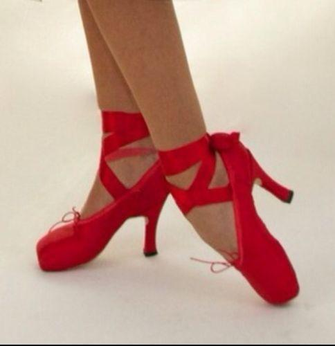 Taps Red Shoes