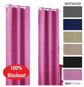 Pink Blockout Curtains