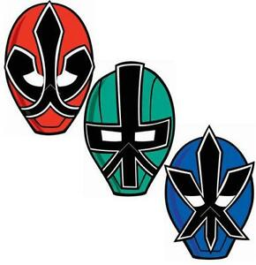 Black Power Ranger Face Paint