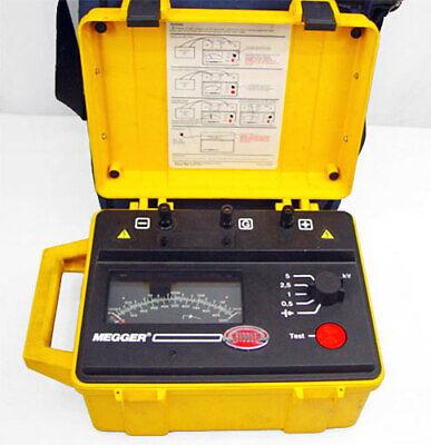 Biddle Megger Bm11 Insulation Resistance Tester 218650