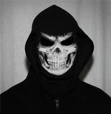 enkopf Schädel Tod Sensenmann für Motorrad Biker Nerf Soft  (Masken Für Männer)