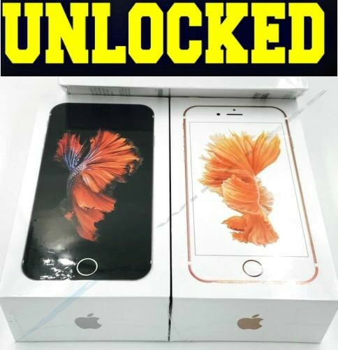 Apple iPhone 6S - 16GB | 64GB | 128GB (UNLOCKED) Space Gray Rose Gold Silver NEW