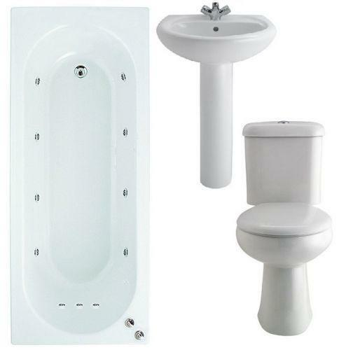 Whirlpool Bathroom Suite Ebay