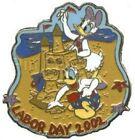 Labor Day Walt Disney World Patches & Pins (1968-Now)